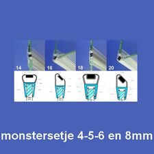 Exa-Lent Universal MON-M Monstersetje - magneetstrippen 4-5-6-8mm